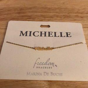 Michelle Name Bracelet